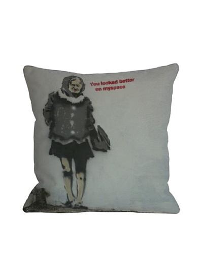 Banksy Myspace Pillow