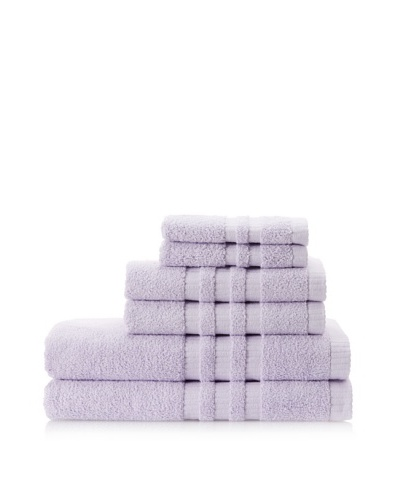 Terry Towels 6-Piece Towel Set, Lilac