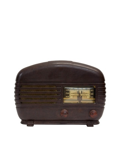 Vintage Arvin Radio, Brown, 7x11x8