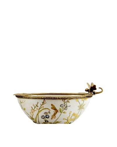 Gragon Fly Haven Small Porcelain Bowl