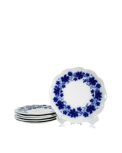 Set of 6 Vinranka Percy Dessert Plates
