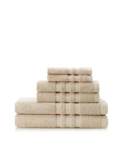 Terry Towels 6-Piece Towel Set, Taupe