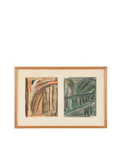 Abstract Fall & Summer Framed Artwork