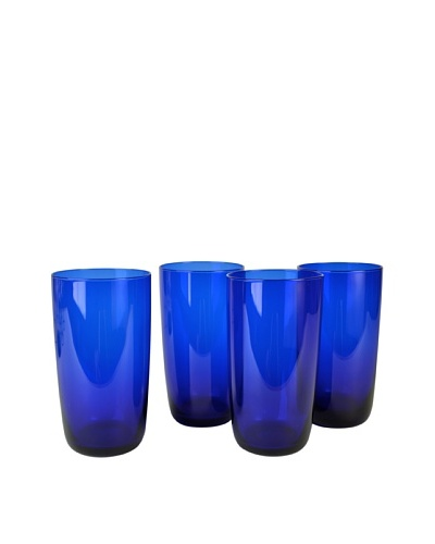 Set of 4 Midnight Blue 17-Oz. Hi-Ball Glasses