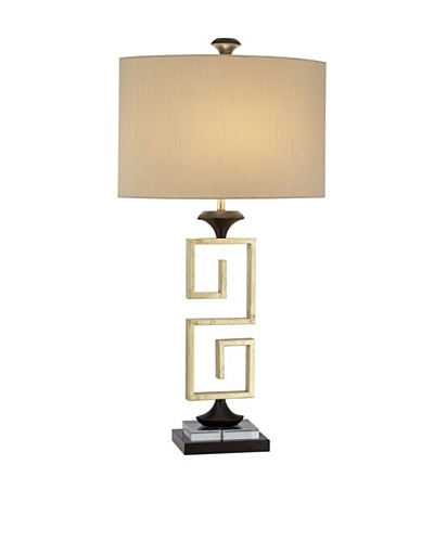 Silver Screen Table Lamp - Gold