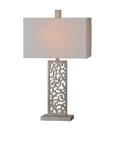 Brianna Table Lamp, Silver