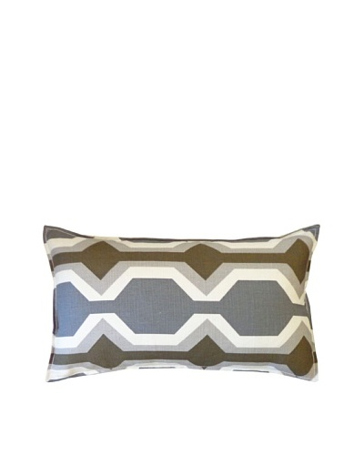 Freeway Throw Pillow, Grey