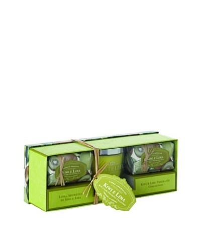 Castelbel Ambiante Kiwi & Lime Soap & Candle Gift SetAs You See