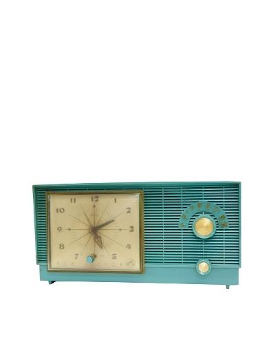 Vintage RCA Victor Radio, Aqua