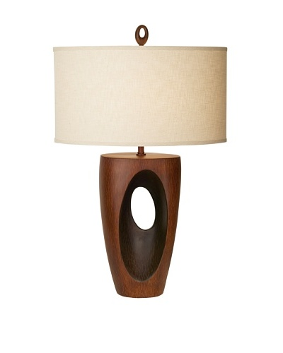 African Eclipse Table Lamp