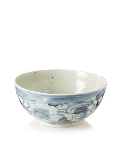 Soft Blue Floral Bowl
