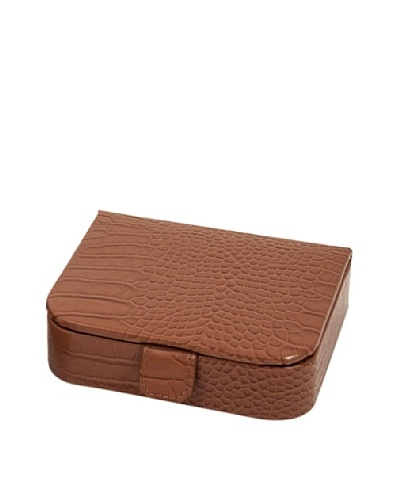 Travel Leather Jewelry Storage, Brown