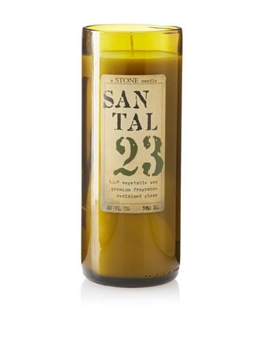 Reclaimed Bottle Santal Candle, 20-Oz.