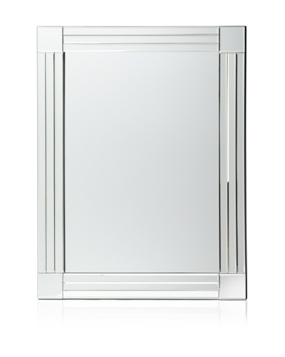 Beveled Column Mirror