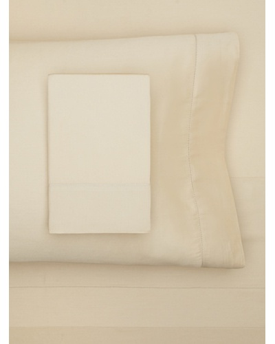 Sateen Hemstitch Sheet Set