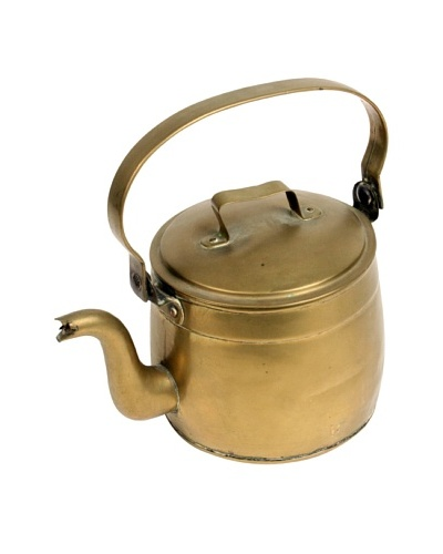 Brass Kettle, Gold