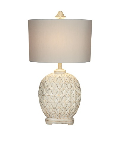 Alabaster Africa Table Lamp