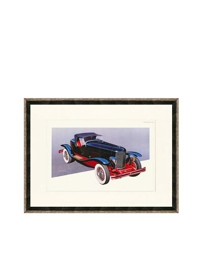 1929 Du Pont Model G Speedster Illustration