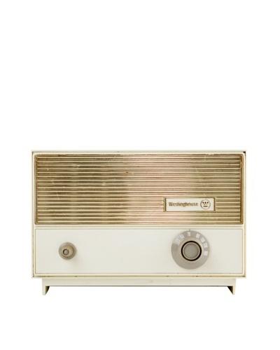 Vintage Westinghouse Radio, Cream