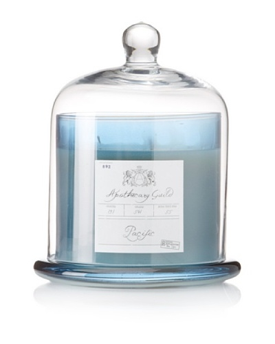 Apothecary Guild Candle Jar with Glass Dome, Pacific, Large