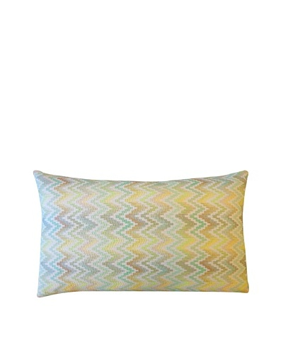 Lux Throw Pillow, Silver