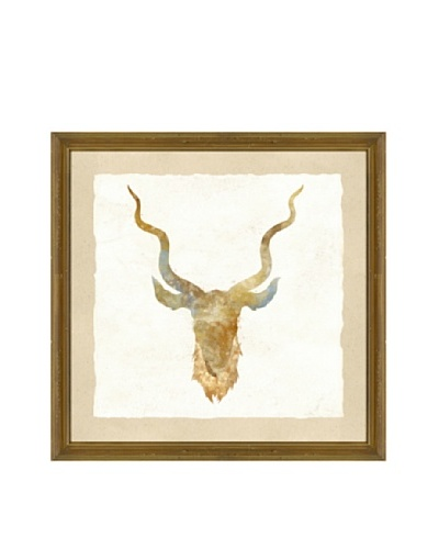 Watercolor Mammal Head Giclée Print I
