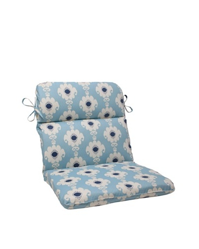 Waverly Sun-n-Shade Rise and Shine Pool Chair Cushion [Navy/Aqua/Cream]