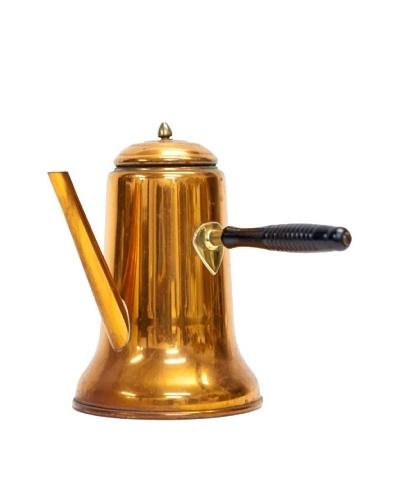 Vintage Copper Teapot with Spout, c. 1900s