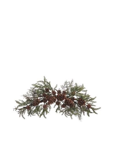 30 Pinecone, Twig & Pine Swag