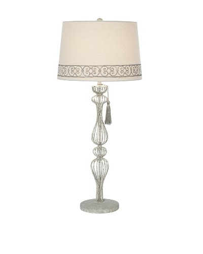Venetian Garden Table Lamp, Antique Stone