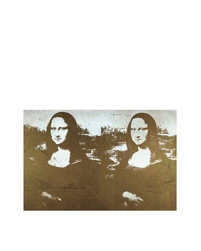Andy Warhol: Two Golden Mona Lisas