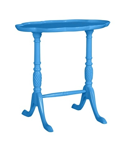 Gueridon Side Table, Blue