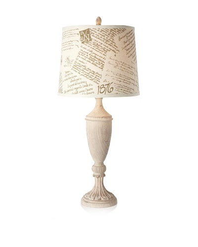 Grand Maison French Literature Table Lamp