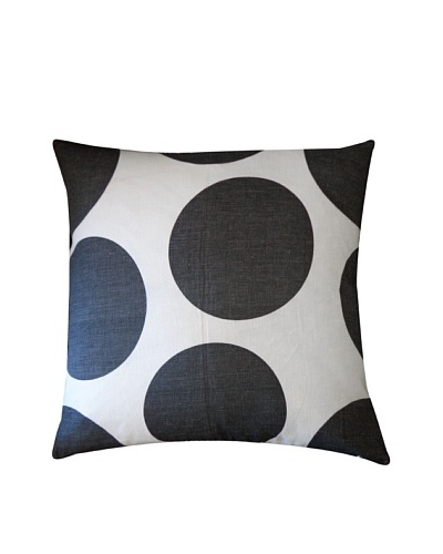 Ball Throw Pillow, Black