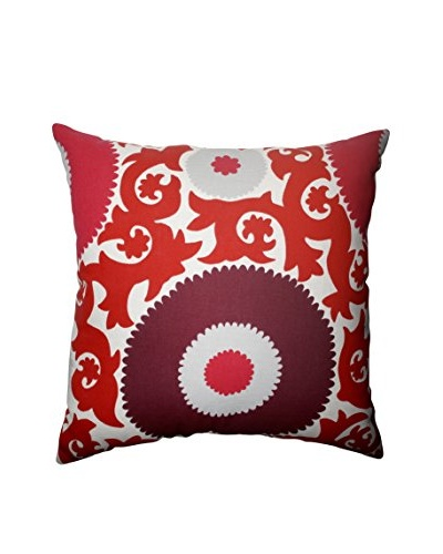 Fahri Claret Indoor/Outdoor Floor Pillow