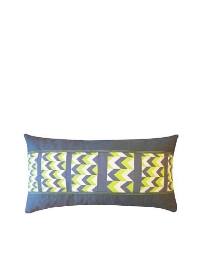 Sheer Throw Pillow, Green