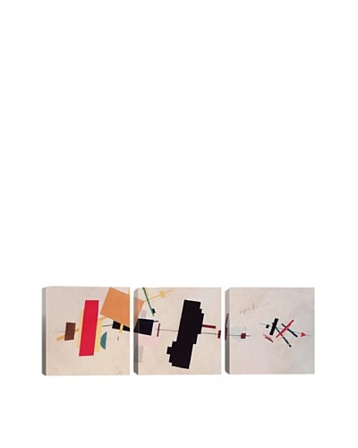 Suprematist Composition by Kazimir Malevich (Panoramic), 48 x 16As You See