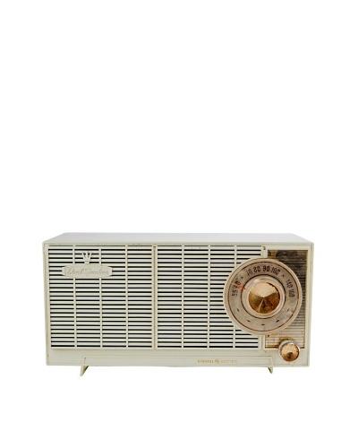 Vintage General Electric Radio, Cream