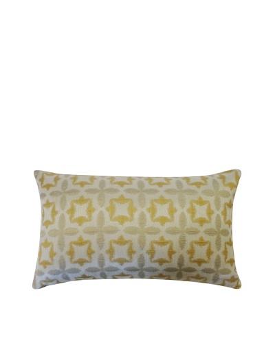 Motif Throw Pillow, Gold