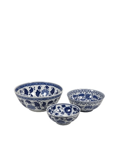 Set of 3 Tollmache Ceramic Bowls