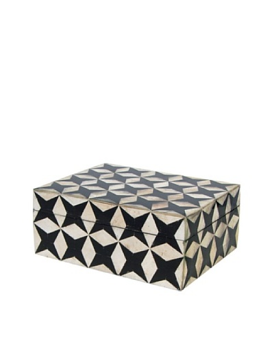Black and White Shell Box, Large