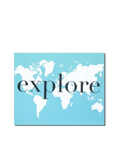 """Ocean Blue Explore, 24"""" x 30"""""""