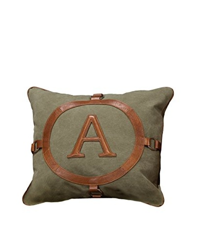 The A Pillow, Brown/Grey