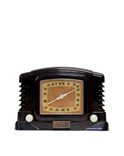 Vintage Radio Shack Radio, Dark Brown