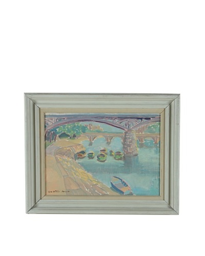 Paris 1950, Olle Wilmer Framed Artwork