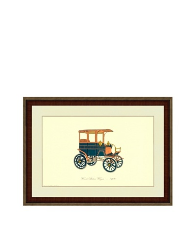 1900 Wood Station Wagon Print (1965)