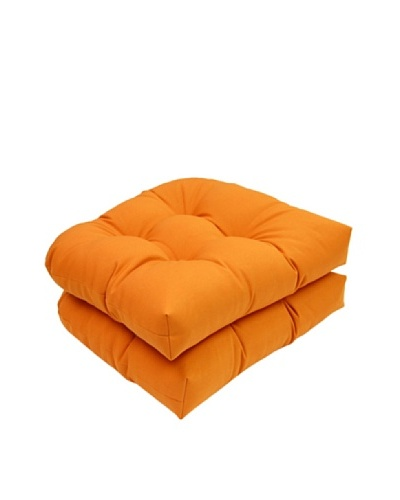 Solid Set of 2 Cushions