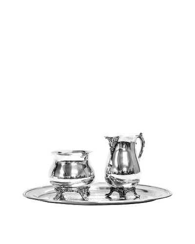 Vintage Silver Mixed Brand 3-Piece Serving Set, c.1960s