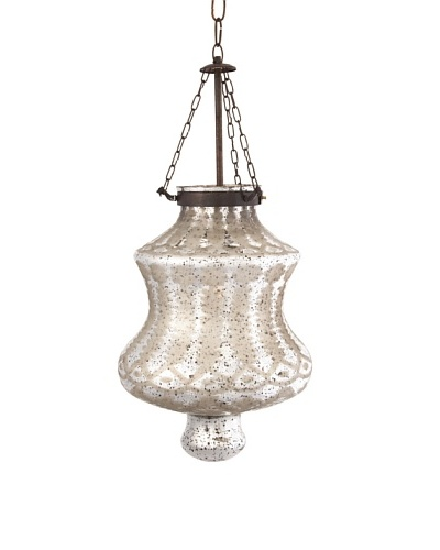 Cadel Etched Glass Pendant Light