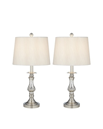 Mercure 2Pk Glass Table Lamps